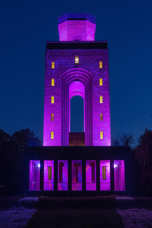 Außenbeleuchtung-Bismarckturm