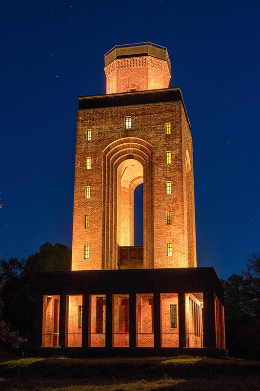 Der Bismarckturm bekommt Licht