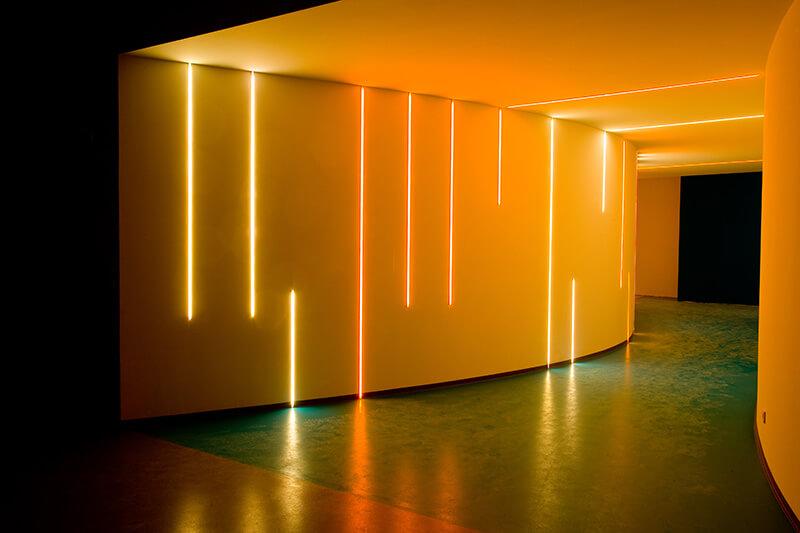 LED-Beleuchtung im Foyer Arvato Bertelsmann