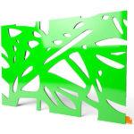 """Designerleuchte """"Organic"""" in grüner Farbe"""