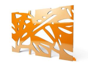 """Designerleuchte """"Organic"""" in orange"""