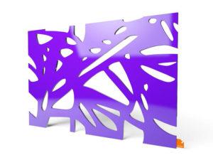 """Designerleuchte """"Organic"""" in violett"""