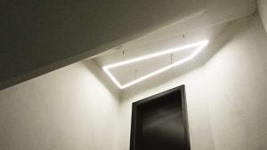Referenz-Bild-Lichtkonzept Deckenlicht