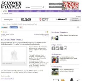 Pressebeitrag leuchte-mit-taille-schner-wohnen-new_-http___www.schoener-wohnen.de_news_s-001-1024x927