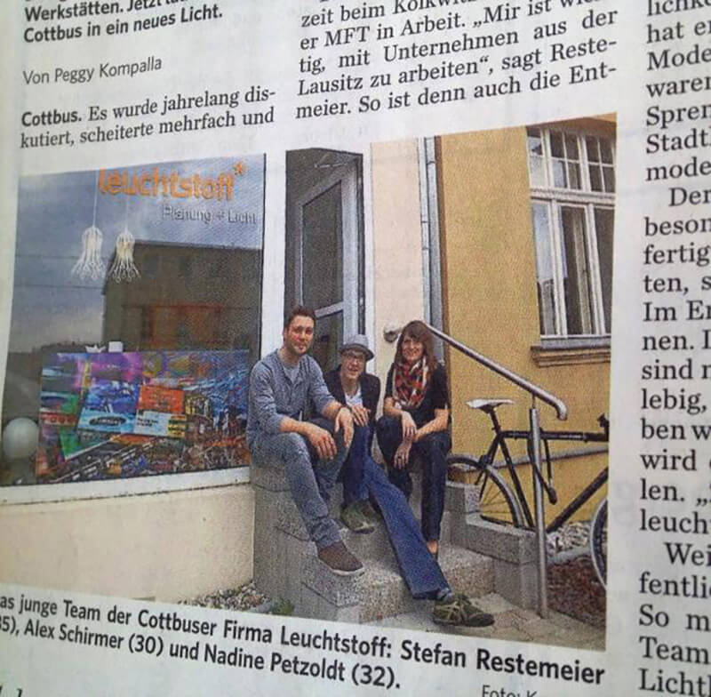 News leuchtstoff_in_der_lausitzer_rundschau