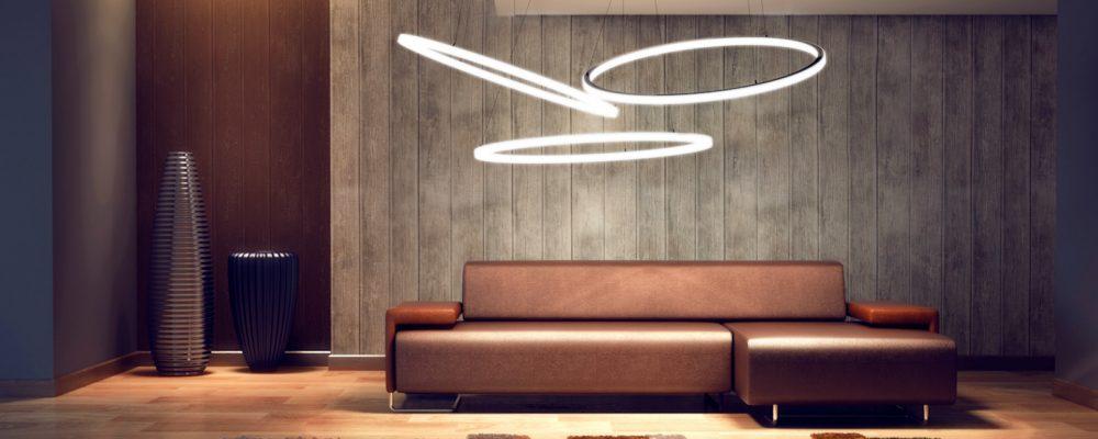 TheO Ringleuchte Pendelleuchte Entwurf Lichtkonzept Wohnzimmer 3 breit